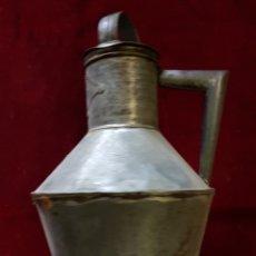 Antigüedades: ARTE DE HOJALATERO ACEITERA INICIALES JG. Lote 162317325