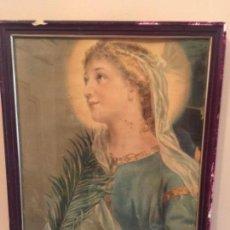 Antigüedades - Cuadro religioso muy antiguo y original - 162343198