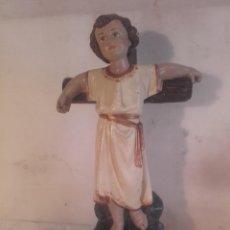 Antigüedades: NIÑO JESUS CRUCIFICADO. Lote 162355030