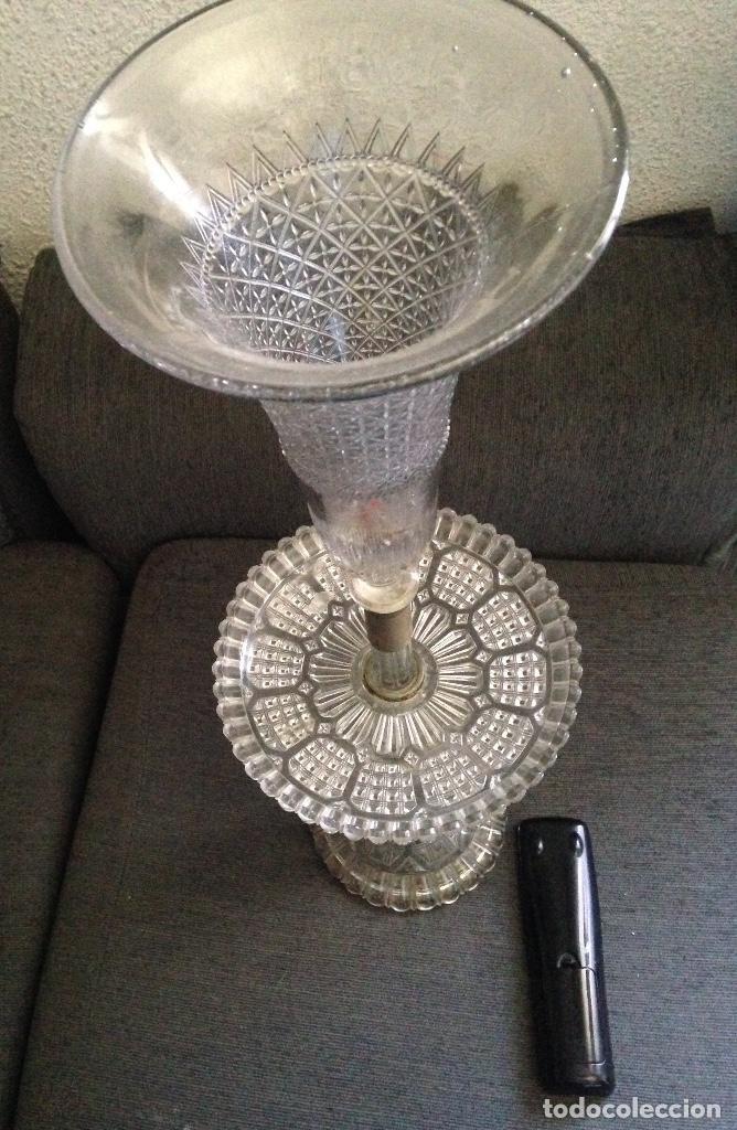 CENTRO CRISTAL SOPLADO XIX (Antigüedades - Cristal y Vidrio - Baccarat )