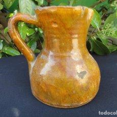 Antigüedades: ALFARERÍA RIOJANA: JARRA PARA VINO DE LA RIOJA. Lote 162446846