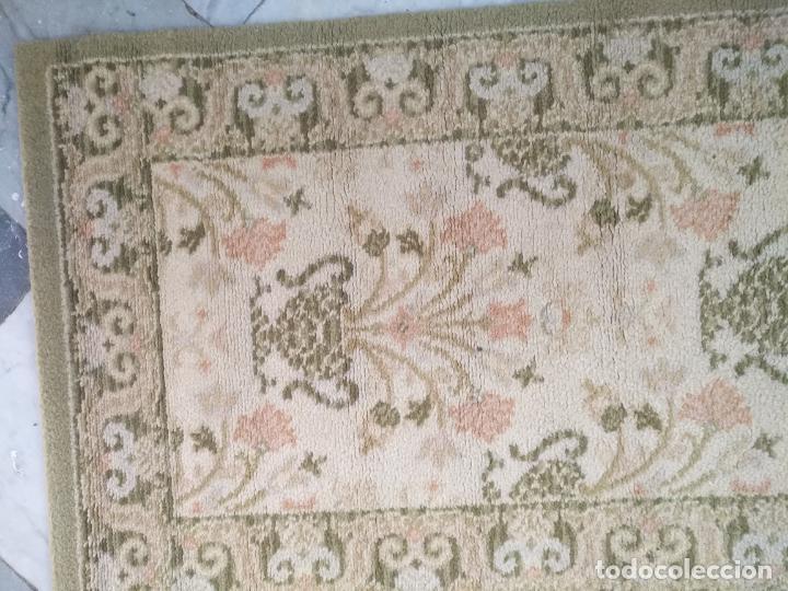 Antigüedades: 2 ALFOMBRAS - ANTIGUA PAREJA DE ALFOMBRAS IMPERIALES DE LANA 117 X 60 CM - Foto 2 - 162447990
