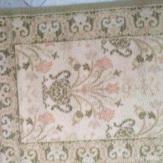 Antigüedades: 2 ALFOMBRAS - ANTIGUA PAREJA DE ALFOMBRAS IMPERIALES DE LANA 117 X 60 CM. Lote 162447990