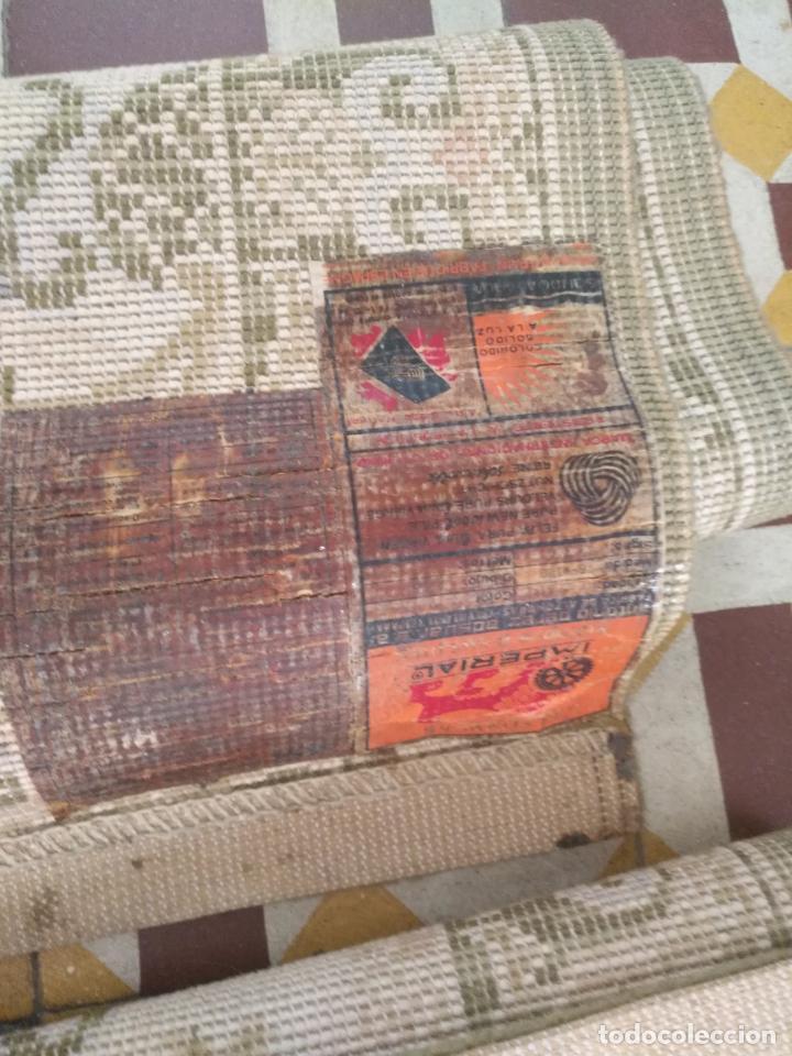 Antigüedades: 2 ALFOMBRAS - ANTIGUA PAREJA DE ALFOMBRAS IMPERIALES DE LANA 117 X 60 CM - Foto 7 - 162447990