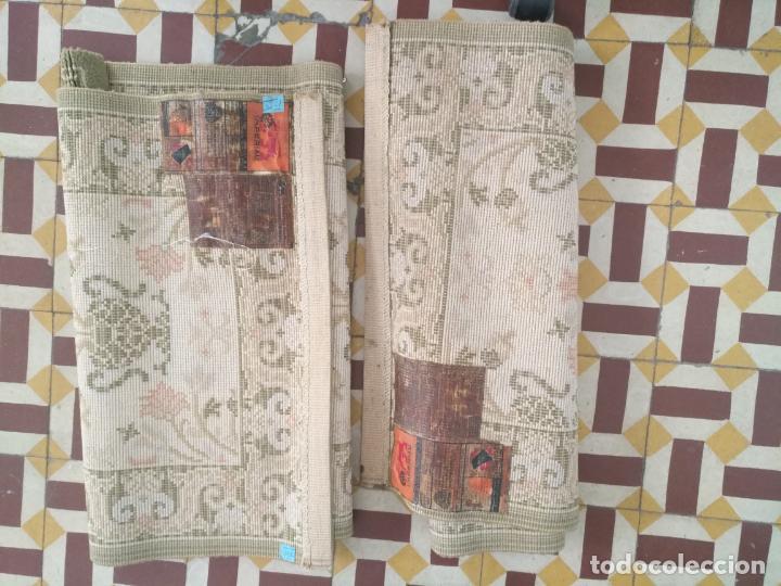 Antigüedades: 2 ALFOMBRAS - ANTIGUA PAREJA DE ALFOMBRAS IMPERIALES DE LANA 117 X 60 CM - Foto 10 - 162447990