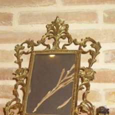 Antigüedades: ANTIGUO PORTAFOTOS,MARCO DE BRONCE. Lote 162466342