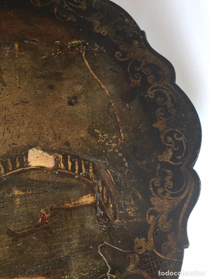 Antigüedades: ANTIGUA MESA VELADOR ESTILO ISABELINO FINALES DEL SIGLO XVIII - Foto 7 - 162466446