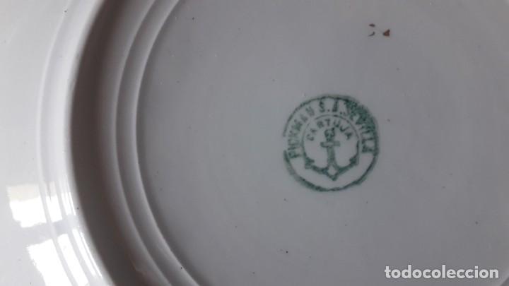 Antigüedades: Vajilla La Cartuja Pickman - Foto 2 - 162482370