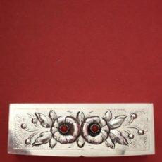 Antigüedades: CAJA DE PLATA. AÑOS 50. Lote 162492424