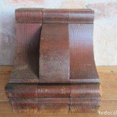 Antigüedades: MÉNSULA RESTAURADA DE PINO MELIS.A.. Lote 162497674