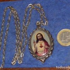 Antigüedades: RELICARIO DE JESUS Y LA VIRGEN.. Lote 162503198