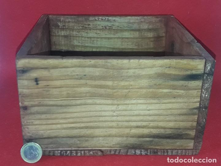 Antigüedades: MEDIDA DE GRANO - CELEMIN - Foto 2 - 162510958
