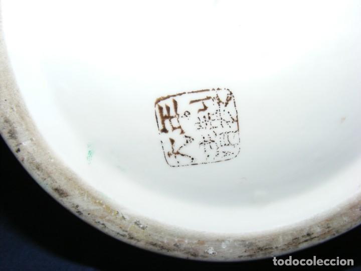 Antigüedades: PAREJA DE JARRONES CHINOS PORCELANA - Foto 6 - 162538370