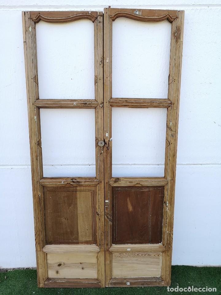 Antigüedades: Puerta cristalera antigua - Foto 4 - 162553878
