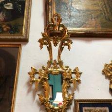 Antigüedades: CORNUCOPIA DE CEDRO Y ORO FINO. Lote 162559146
