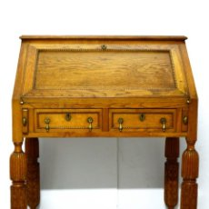 Antigüedades: BUREAU EN ROBLE. Lote 162560694