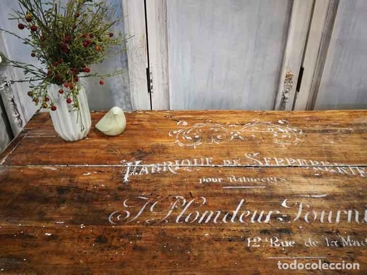 Antigüedades: Aparador antiguo estilo francés rústico - Foto 2 - 162563894
