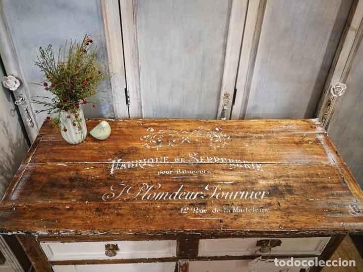 Antigüedades: Aparador antiguo estilo francés rústico - Foto 3 - 162563894