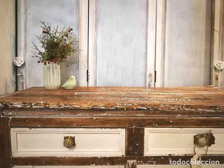 Antigüedades: Aparador antiguo estilo francés rústico - Foto 4 - 162563894