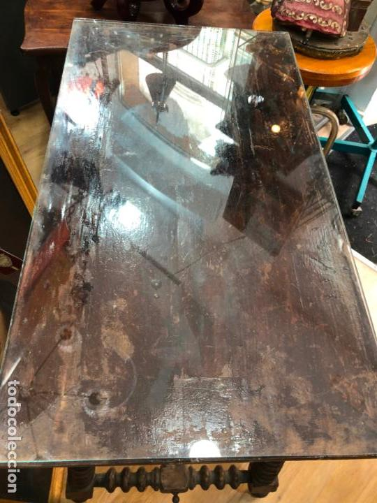 Antigüedades: MUY ANTIGUA MESA DE SAN ANTONIO CON MEDIDAS 44X80X75CM DE ALTO - - Foto 15 - 162575294