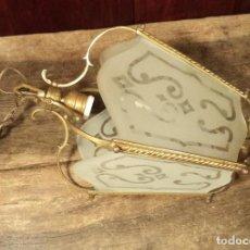 Antigüedades: FAROL DE BRONCE. Lote 162606742