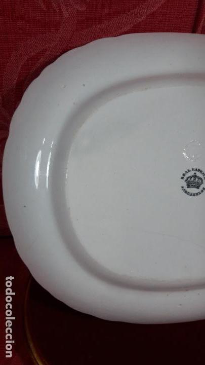 Antigüedades: Sargadelos fuente rara serie empedrada con marcas tercera epoca - Foto 9 - 162608714