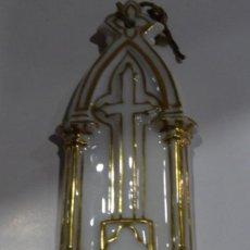 Antigüedades: BENDITERA ANTIGUA DE PORCELANA.. Lote 162698818