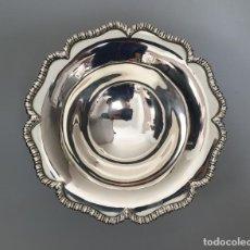 Antigüedades: TAZA EN PLATA LEY MARCADO CON CONTRASTE. Lote 162758530