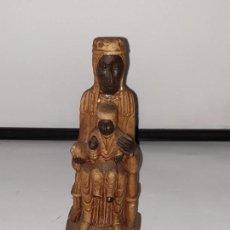 Antigüedades: VIRGEN MONTSERRAT DE RESINA . Lote 162792094