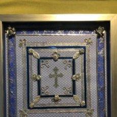 Antigüedades: CUADRO CRUCIFIJO. Lote 162809186