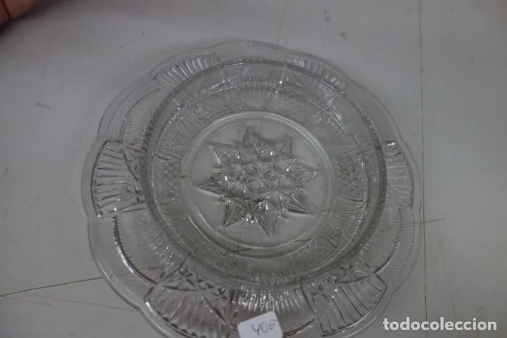Antigüedades: QUESERA DE CRISTAL DE SANTA LUCIA DEL SIGLO XIX - Foto 3 - 162901290