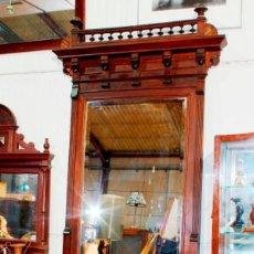 Antigüedades: MUEBLE ENTRADA O RECIBIDOR ALFONSINO, SIGLO XIX. Lote 162906858