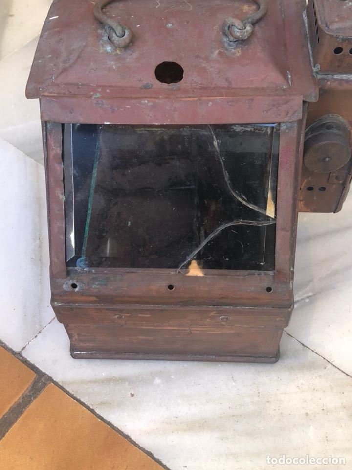 Antigüedades: Antiguo farol de carburo, siglo XIX - Foto 2 - 162937565