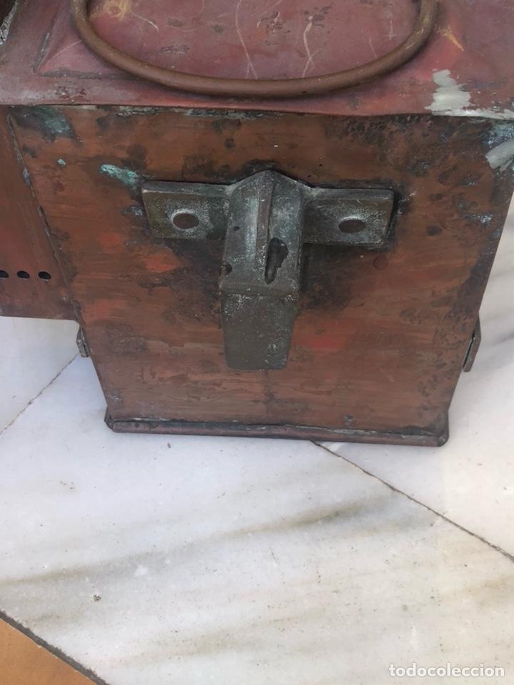 Antigüedades: Antiguo farol de carburo, siglo XIX - Foto 4 - 162937565