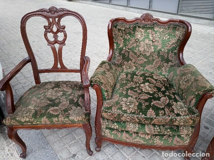Antigüedades: Conjunto sofás modernista - Foto 3 - 162978598