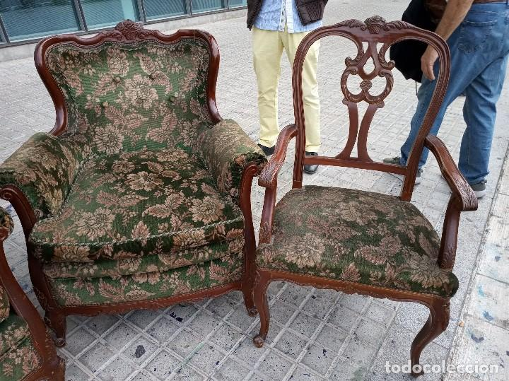 Antigüedades: Conjunto sofás modernista - Foto 4 - 162978598