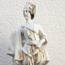 Antigüedades: FIGURA CERÁMICA. Lote 162986686