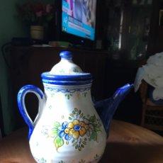Antigüedades: JARRA GRANDE DE AGUA DE TALAVERA ANTIGUA. Lote 163023534