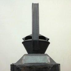 Antigüedades: MARQUESA DE FURGÓN DE JEFE DE TREN. RENFE. SIGLO XIX. ESPAÑA. Lote 163027226