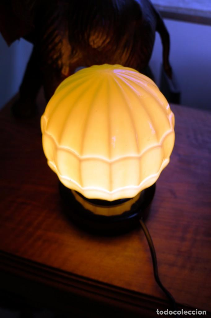 Antigüedades: Lámpara art decó - Foto 5 - 163036378