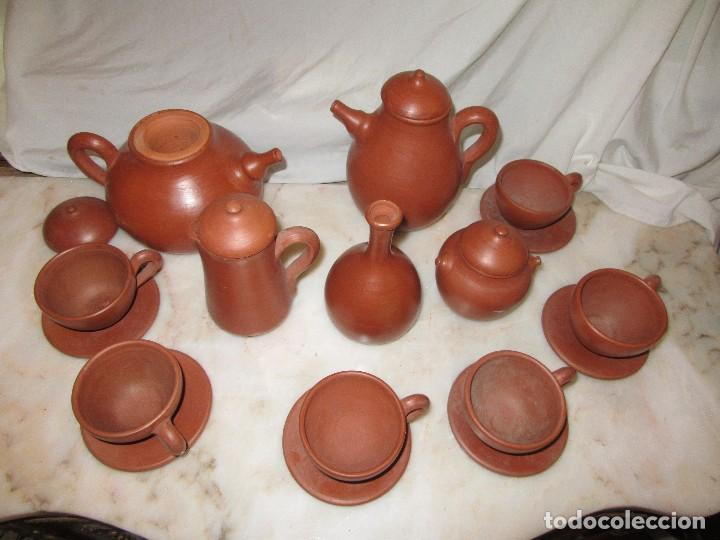 JUEGO DE CAFÉ O TÉ. ZAMORA (Antigüedades - Porcelanas y Cerámicas - Otras)