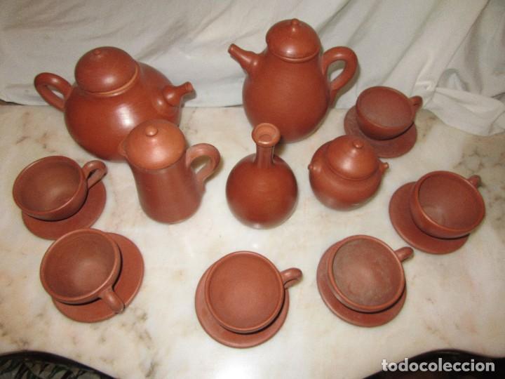 Antigüedades: JUEGO DE CAFÉ O TÉ. ZAMORA - Foto 2 - 163041786