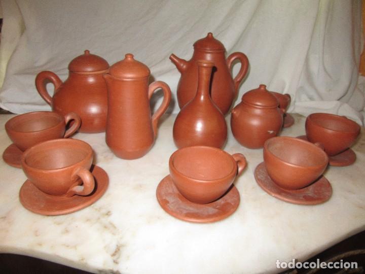 Antigüedades: JUEGO DE CAFÉ O TÉ. ZAMORA - Foto 3 - 163041786