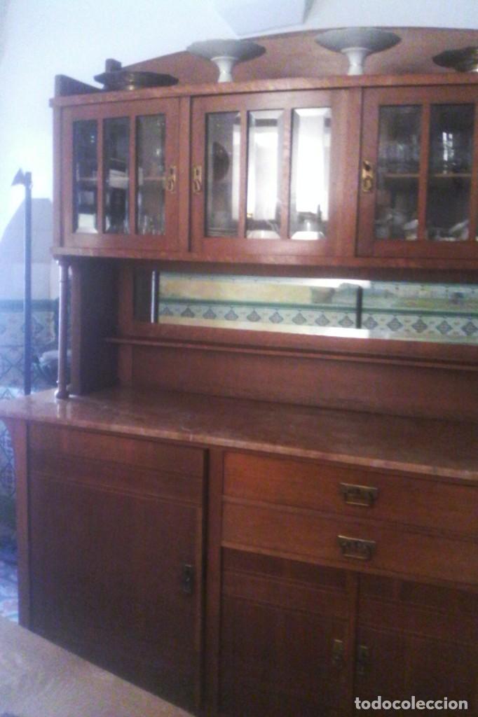 buffet - comedor - vitrina . - Buy Antique Vitrines at todocoleccion ...
