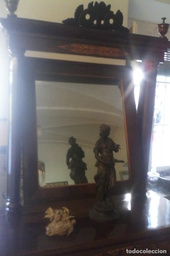 Antigüedades: CONSOLA IMPERIO - S. XIX . - Foto 5 - 163078678