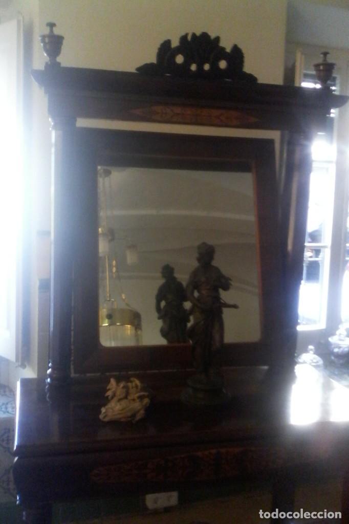 Antigüedades: CONSOLA IMPERIO - S. XIX . - Foto 7 - 163078678