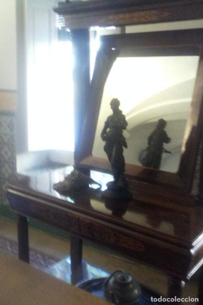 Antigüedades: CONSOLA IMPERIO - S. XIX . - Foto 10 - 163078678