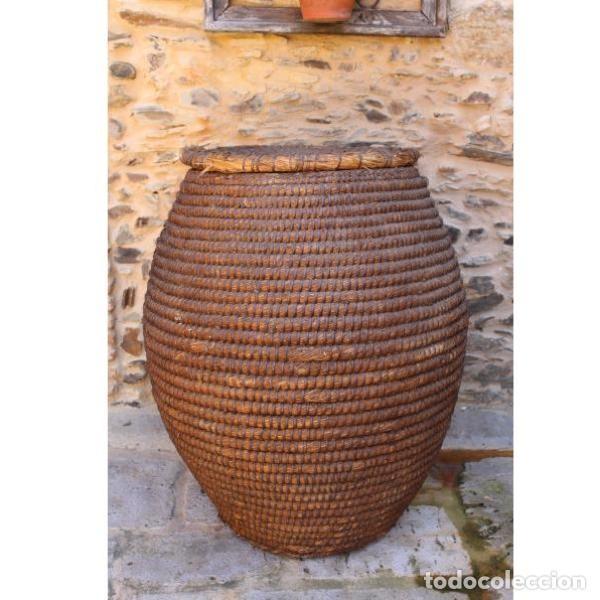 ANTIGUO ESCRIÑO DE GRAN TAMAÑO (Antigüedades - Varios)