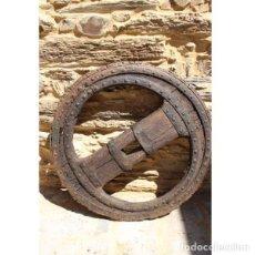 Antigüedades - Rueda de carro sigo XIX - 163081870