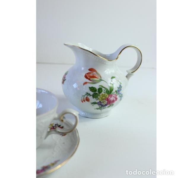 Antigüedades: Antiguo juego de porcelana - Foto 2 - 163082746